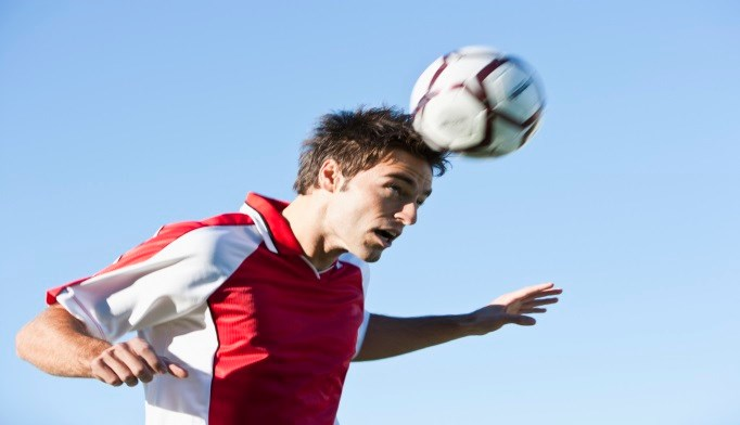 Study findings suggest that soccer players experience repeated concussive impacts.