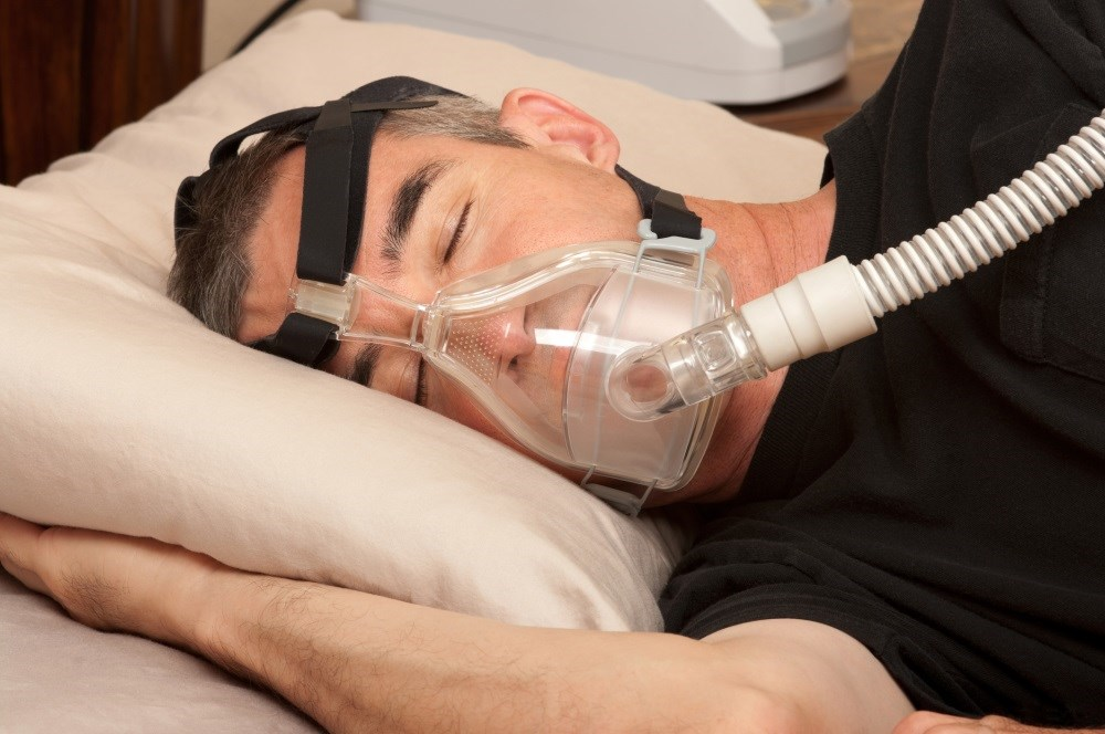 Positive airway pressure is typically used to treat sleep apnea and hypoxia.