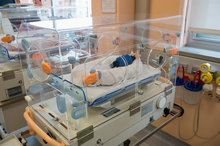 The current cooling standard for neonatal encephalopathy is 33.5°C for 72 hours.