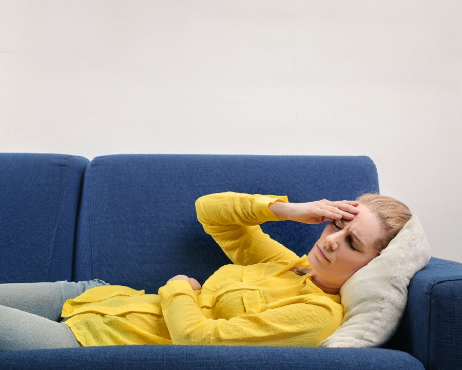 Migraine-related nausea is improved faster with intranasal sumatriptan.