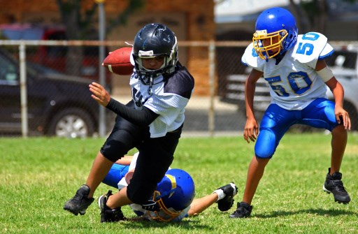 One Season of Middle School Football Has No Ill Effect on Brain