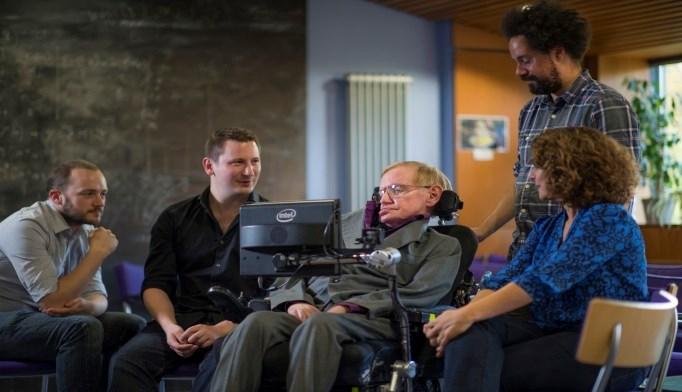 Intel, Stephen Hawking Unveil New Communications Platform