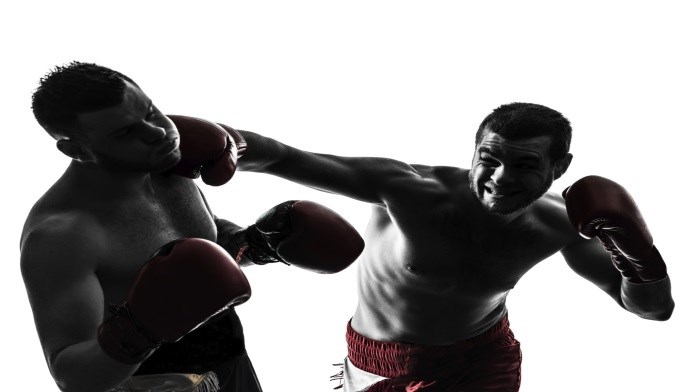 Fighters Show Brain Volume Loss, Cognitive Deficits Over Time