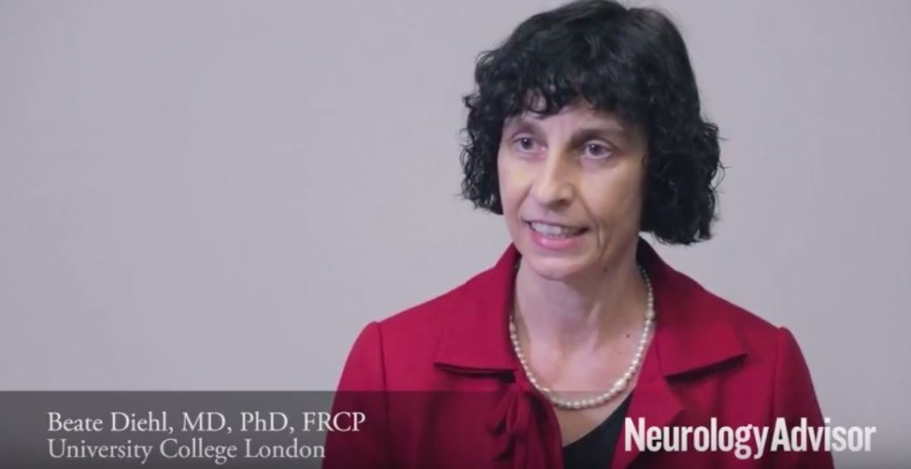 Beate Diehl, MD, PhD, FRCP, discusses her research on post-stroke epilepsy.