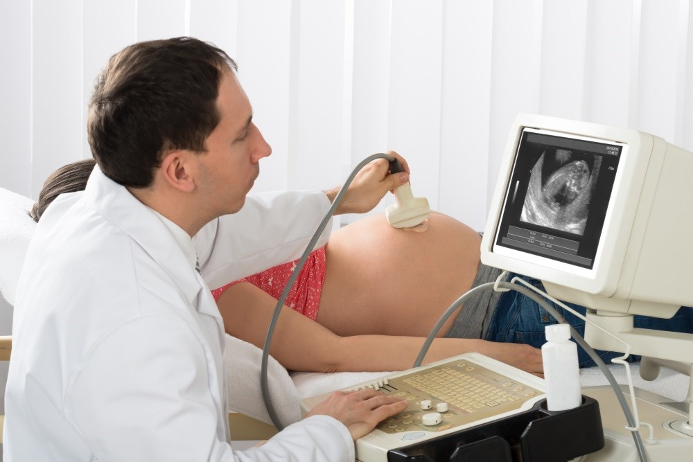 Compared with the typical development group, the ASD group had greater mean depth of ultrasonographic penetration during the first and second trimesters.