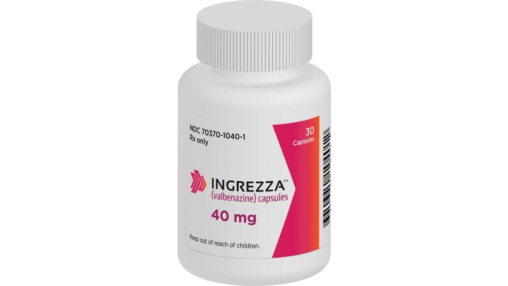 Ingrezza will be available to prescribers on May 1, 2017.