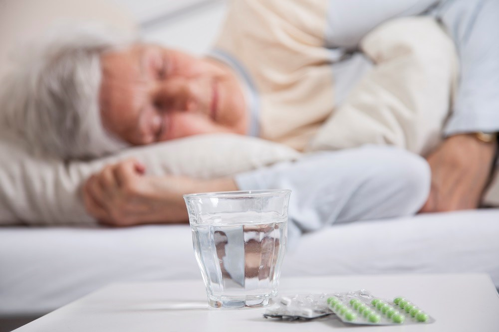 Sleep medications often contain antihistamines which can cause confusion, urinary retention, and constipation.