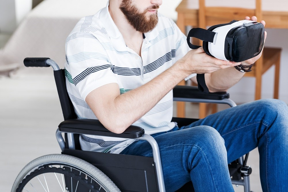 Virtual reality technology may help repair sensory impairments in patients with spinal cord injury.