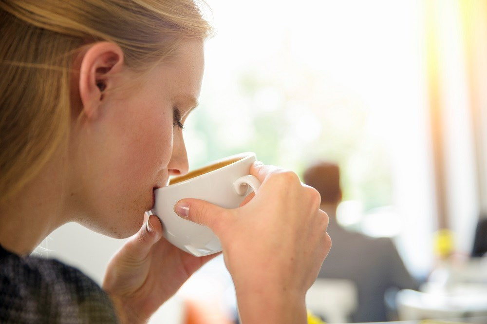 Increased caffeinated coffee consumption was inversely linked with risk of incident rosacea
