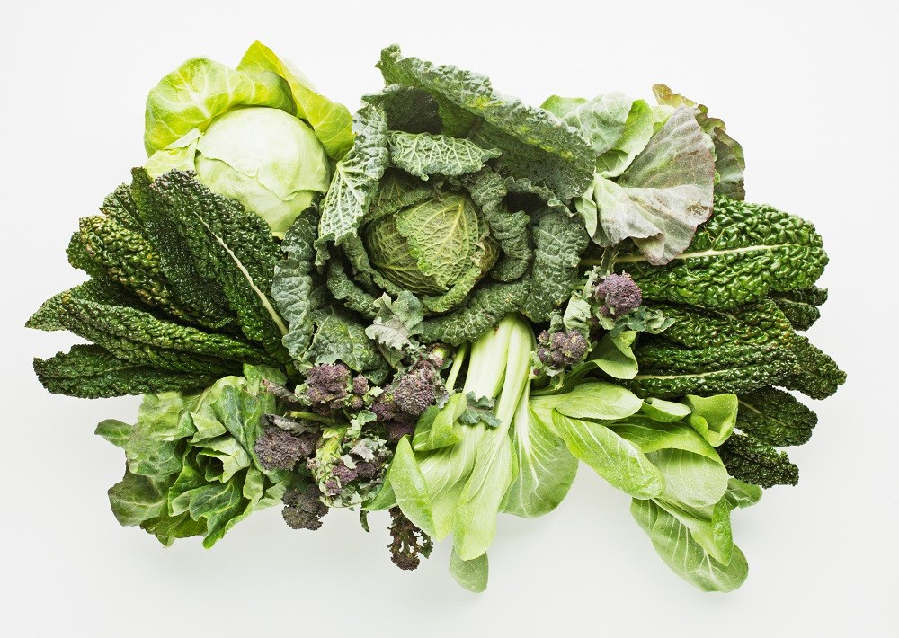 Consumption of green leafy vegetables was correlated with slower cognitive decline.
