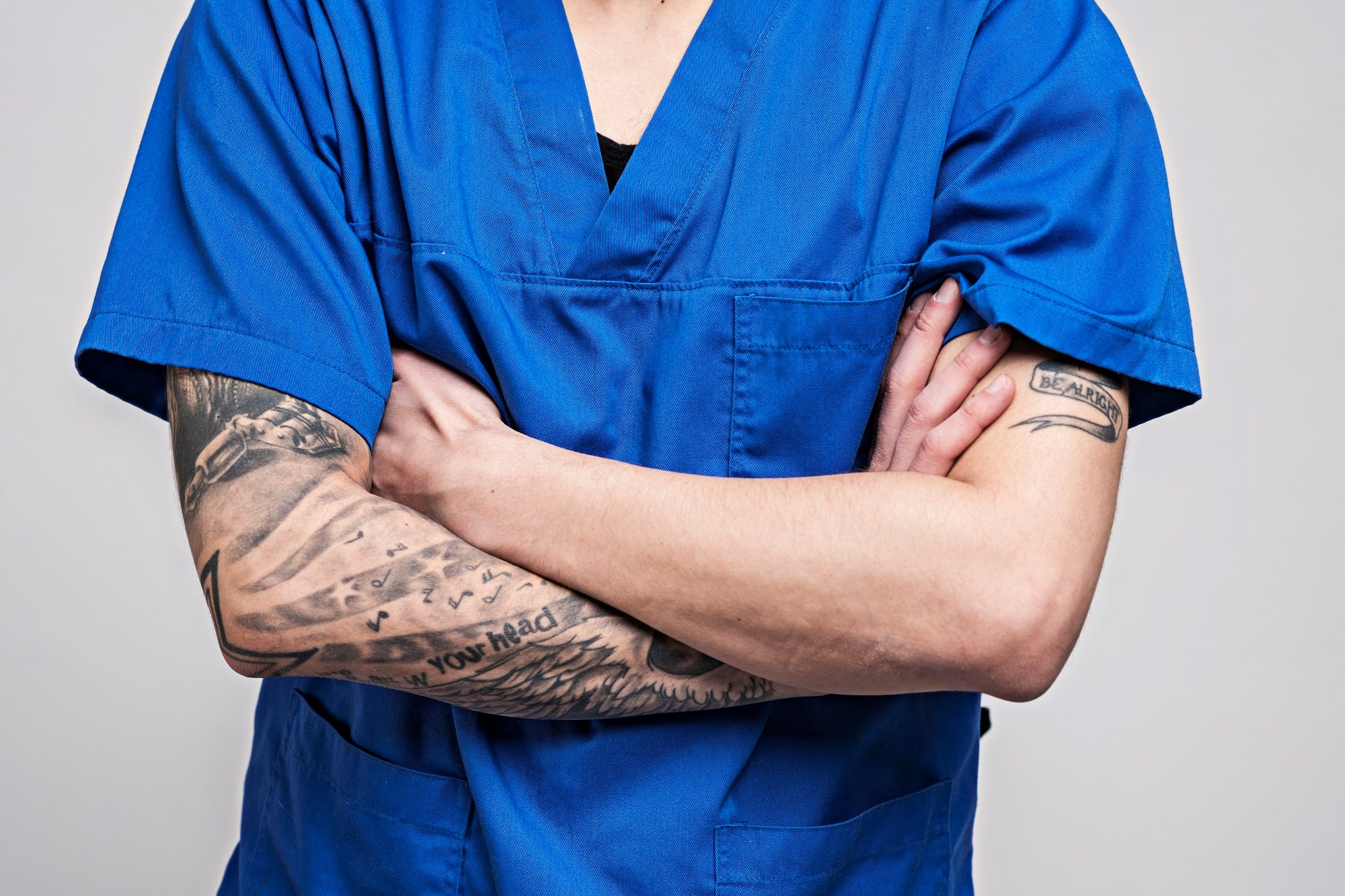 Patients do not appear to mind if doctors have tattoos or piercings.