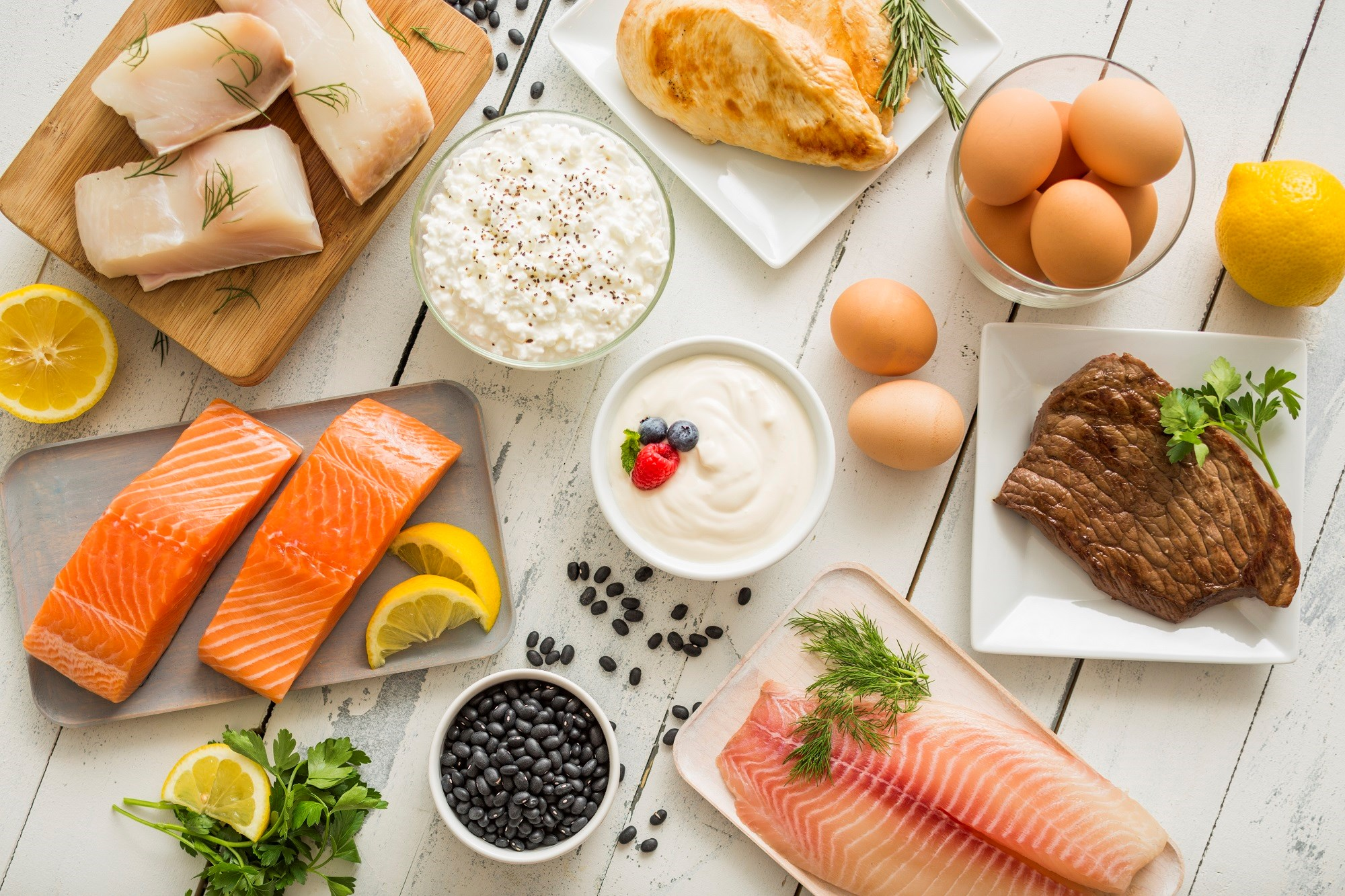 A healthy diet including fish, eggs, vegetables, poultry, and legumes may lower the risk for central nervous system demyelination.