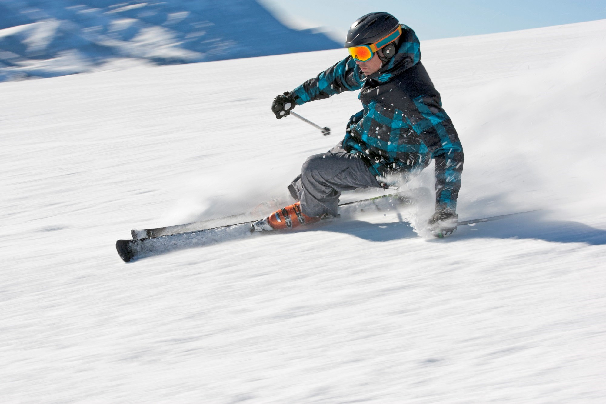 The use of helmets may not protect alpine sports participants from traumatic brain injury.