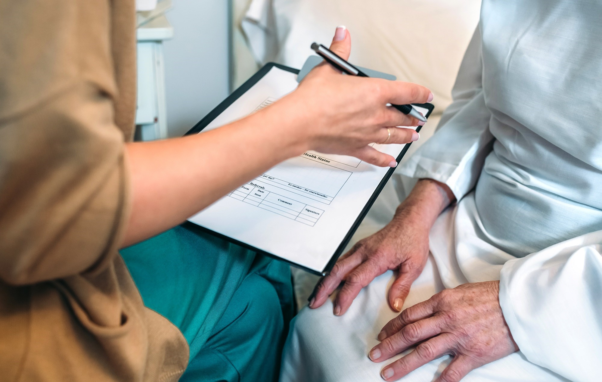The novel questionnaire may identify patients with ALS suffering from dyspnea and allow early assessment and monitoring for symptom management.