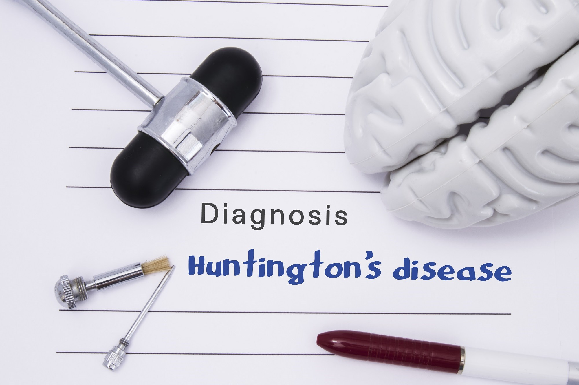 Two physicians administered both UHDRS and UHDRS-FAP scales twice on the same day to patients with Huntington disease.