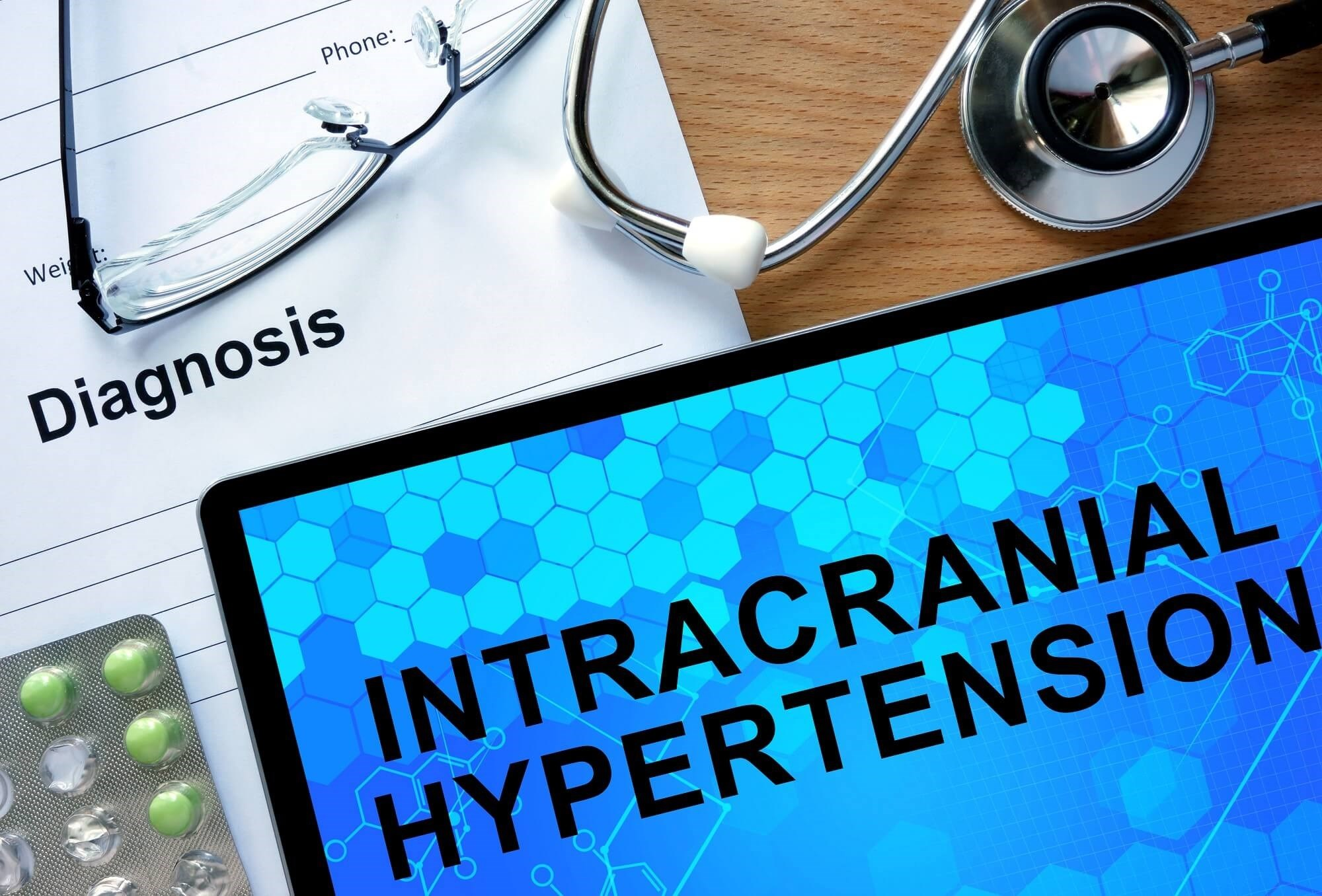 Idiopathic intracranial hypertension is characterized by an elevation of intracranial pressure with no identifiable cause.