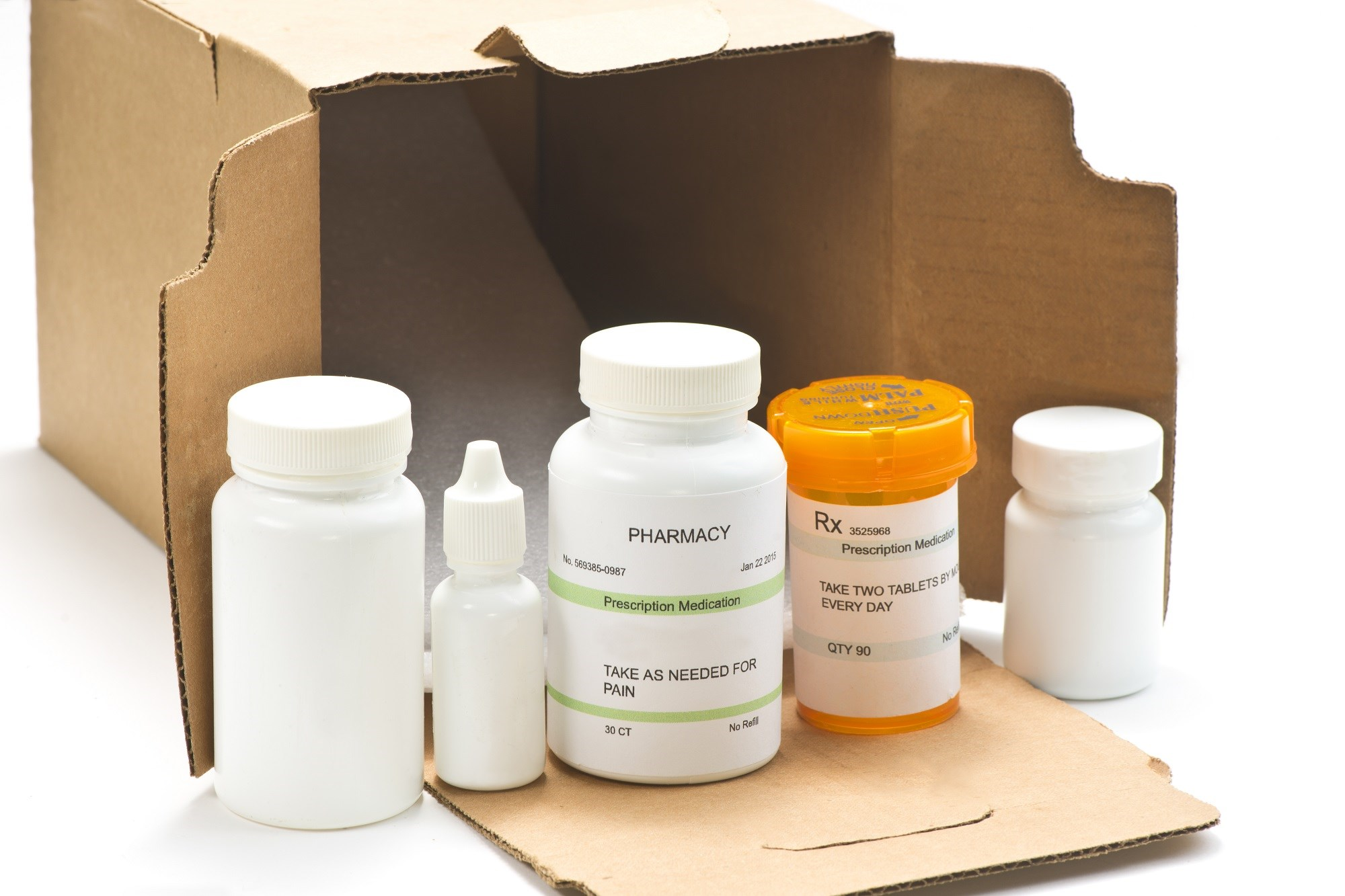 Eligible prescriptions can be delivered to the home as early as next-day for a flat fee of $4.99
