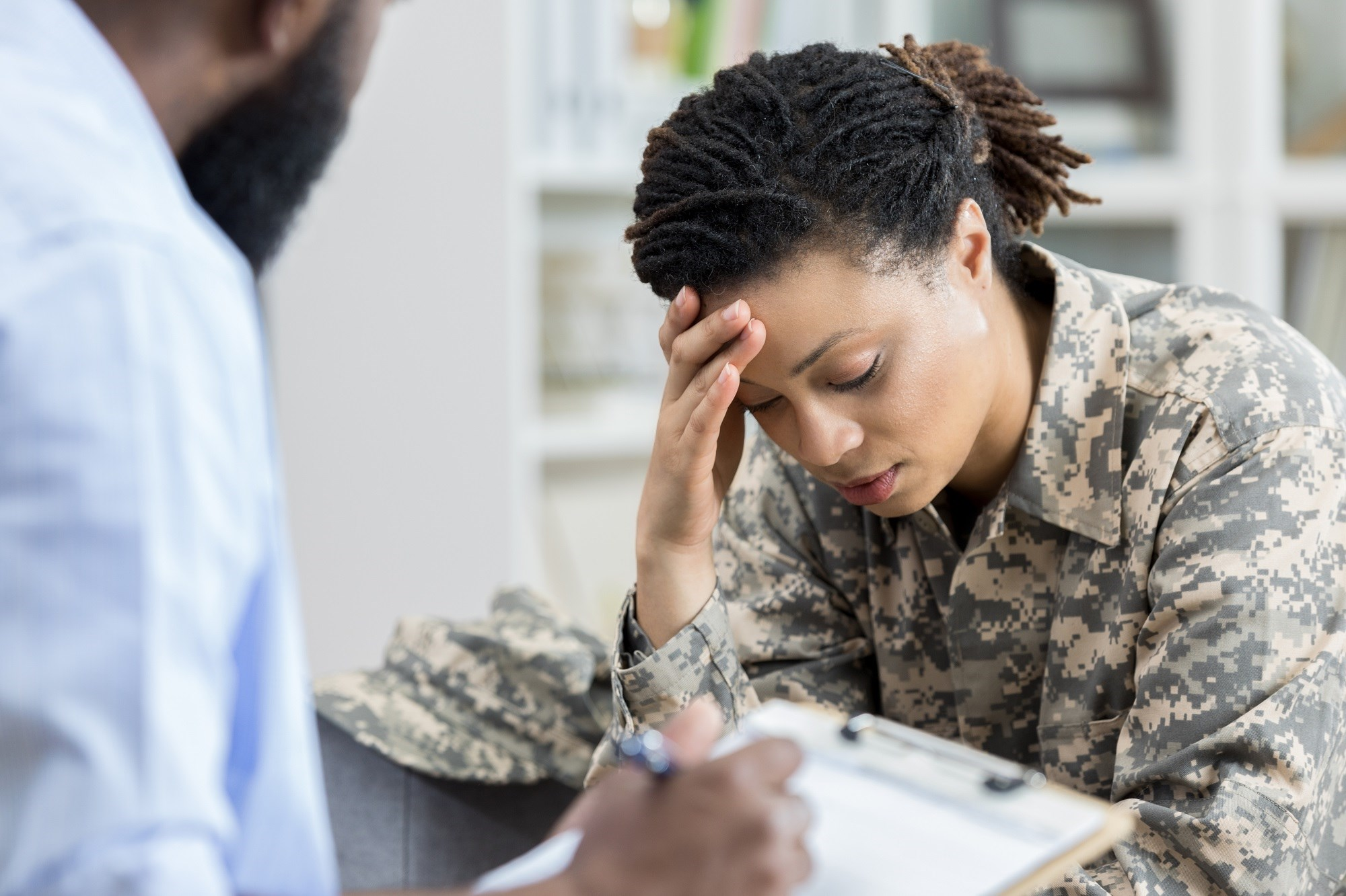 Women with military-related risk factors have an increased risk for developing dementia.